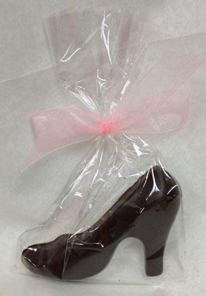 chocolate shoe wedding favor